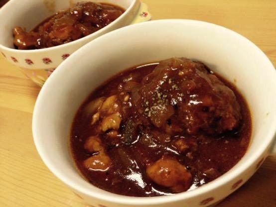煮込みハンバーグ レシピ 簡単 IMG 1194