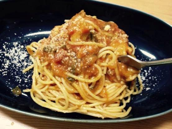 ズッキーニ パスタ レシピ IMG 2993