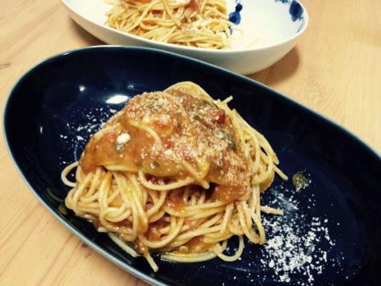 ズッキーニ パスタ レシピ IMG 2989