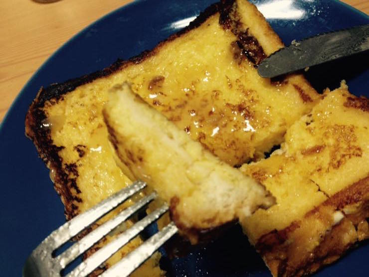 フレンチトースト 離乳食 レシピ IMG 4034