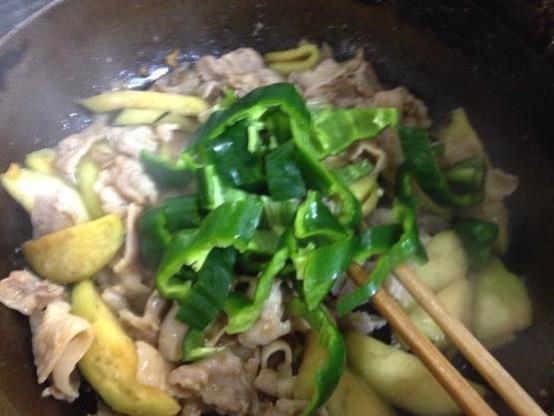 甜麺醤 レシピ 豚肉IMG 4634