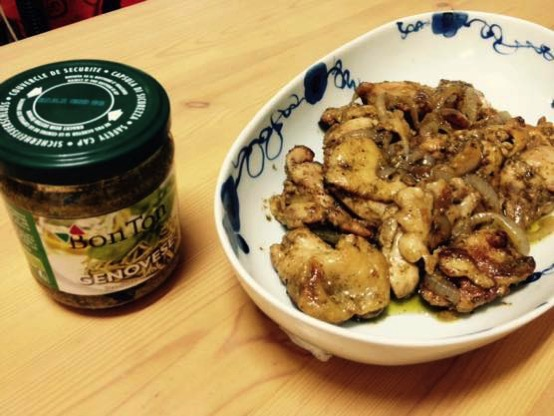 鶏肉 バジル 炒め レシピ IMG 7428