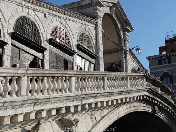 イタリア新婚旅行 ヴェネツィア(ベネチア)のリアルト橋