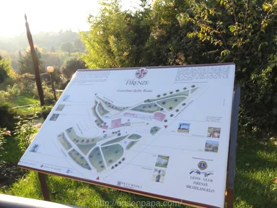 Giardino フィレンツェ delle Rose 01243 1024