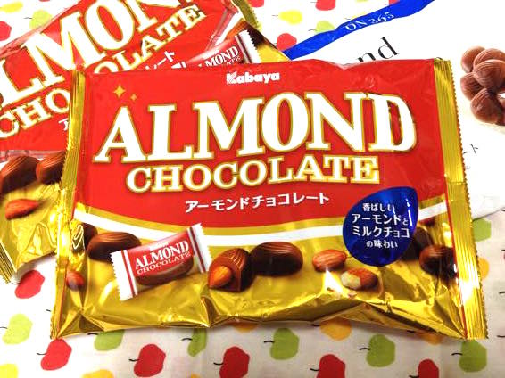 カバヤ アーモンドチョコレート IMG 1998