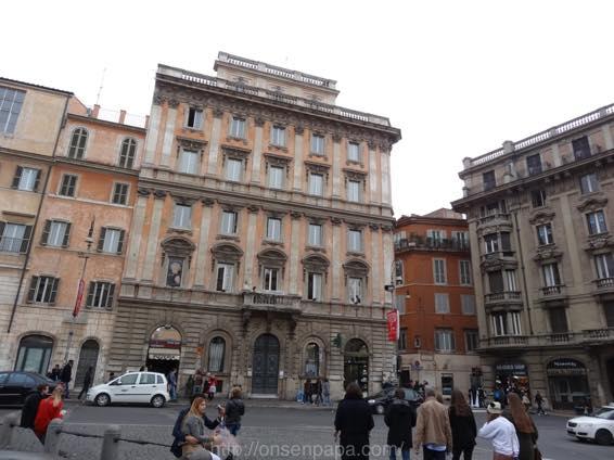 スペイン広場 ローマ 新婚旅行 01784