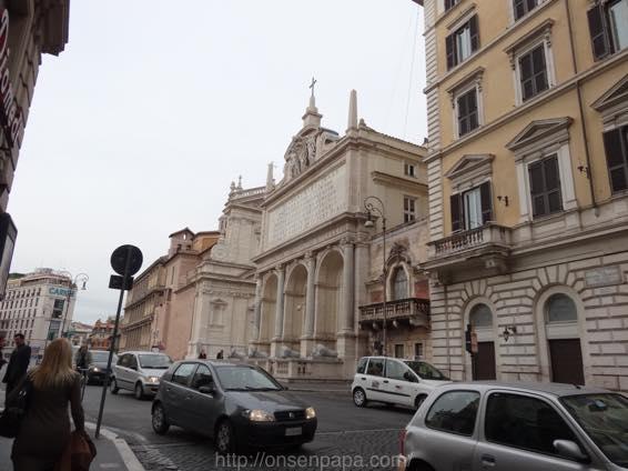 スペイン広場 ローマ 新婚旅行 01762