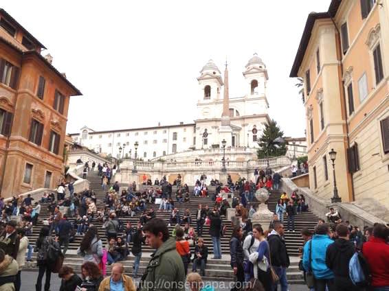 トレヴィの泉 ローマ 新婚旅行 01804