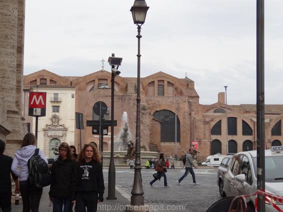 スペイン広場 ローマ 新婚旅行 01753