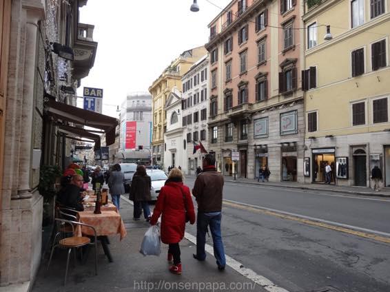 スペイン広場 ローマ 新婚旅行 01787