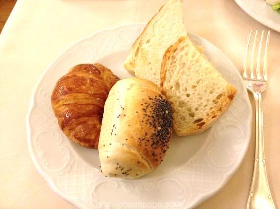 イタリア 新婚旅行 朝食  3920