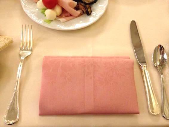 イタリア 新婚旅行 朝食  3919