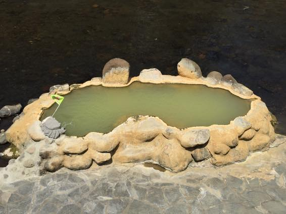 長湯温泉 ガニ湯の入り方