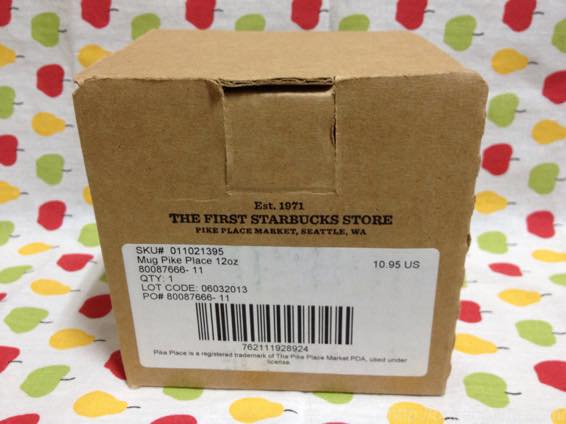 スタバ マグカップ 値段 シアトル  IMG 6775