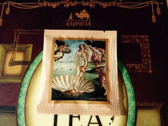 ヴィーナスの誕生とフィレンツェに思いを馳せる緑茶、ルピシアのブック オブ ティー【レビュー】