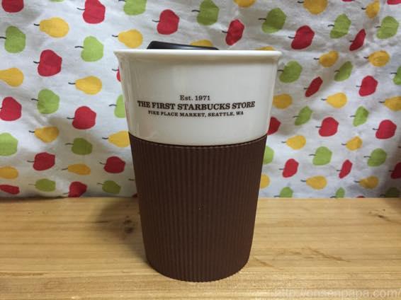 北米シアトル スターバックス1号店  マグカップ 8oz  マグカップ シアトル パイクプレイス 限定 IMG 65 2