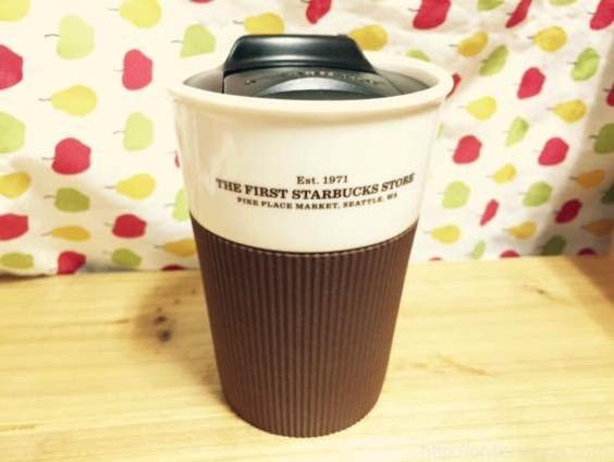 スターバックス マグカップ 8oz、パイクプレイスのシアトル1号店限定【レビュー】