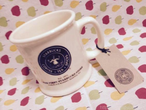 スターバックス マグカップ MADE IN USAのシアトル パイクプレイス1号店限定マグ【レビュー】