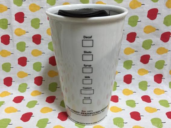 北米シアトル スターバックス1号店 パイクプレース 限定 マグカップ 大 12oz  9651