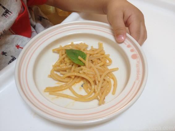 幼児食 パスタ 好き嫌い  7095