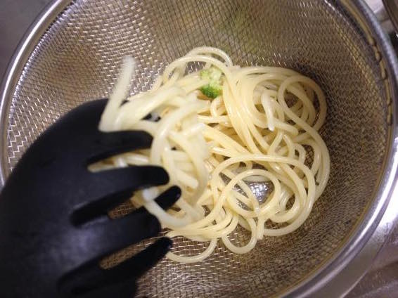 幼児食 パスタ レシピ 簡単 ブロッコリーIMG 9422