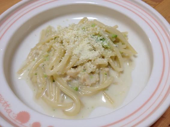 幼児食 パスタ レシピ 簡単 ブロッコリーIMG 9482