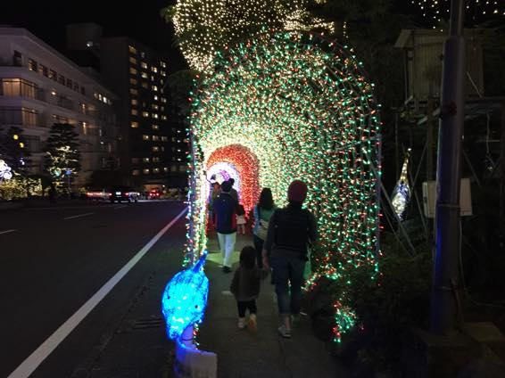 別府 大分 杉乃井ホテル イルミネーション IMG 2866