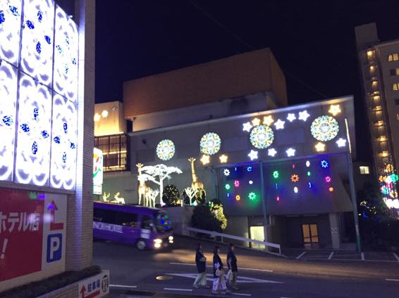 別府 大分 杉乃井ホテル イルミネーション IMG 2824
