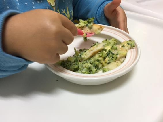 幼児食 ピザ レシピ 2歳  IMG 4010
