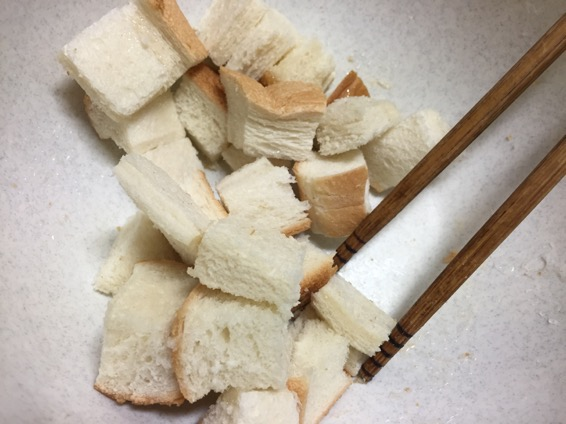 幼児食 きな粉 パン IMG 6765