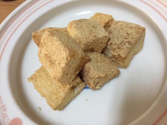幼児食 きな粉 パン IMG 6776
