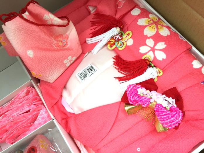 七五三 3歳 女の子 着物 レンタルIMG 3821