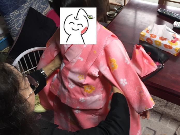 七五三 3歳 女の子 着物 レンタルIMG 3681