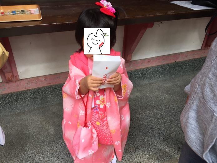 七五三 3歳 女の子 着物 レンタルIMG 3781