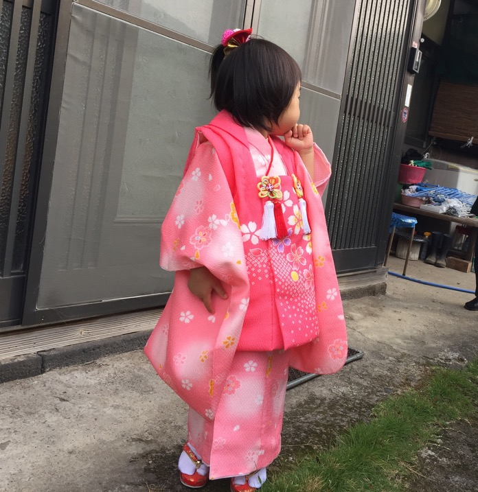 七五三 3歳 女の子 着物 レンタルIMG 3708