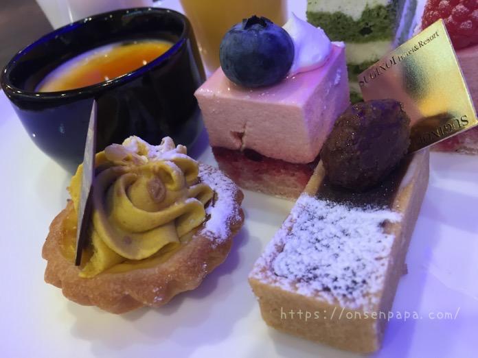 杉乃井ホテル シーダパレス デザート 食べ放題 ブログ  IMG 5977