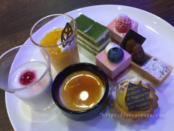 杉乃井ホテル シーダパレス デザート 食べ放題 ブログ  IMG 5973