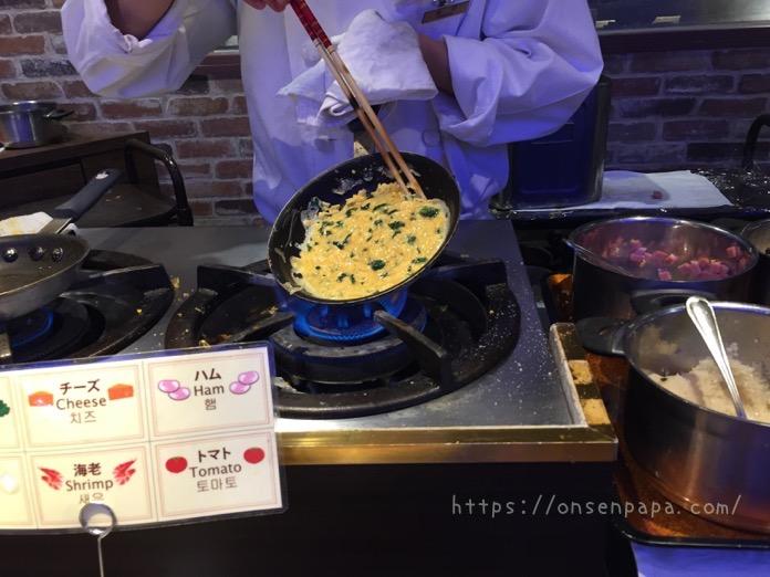 杉乃井ホテル バイキング 朝食 IMG 6242