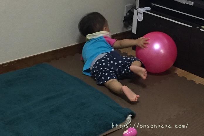 赤ちゃん クッションマット ケガ防止 IMG 0902