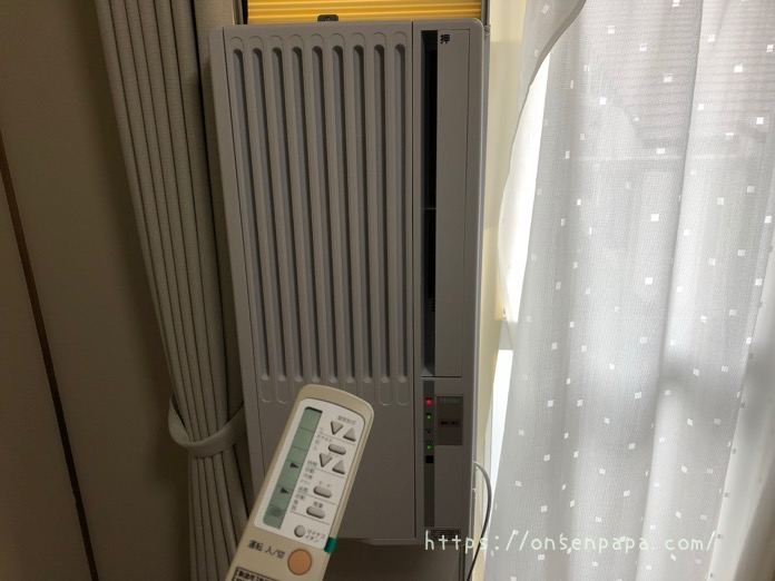窓用エアコン ハイアール IMG 4770