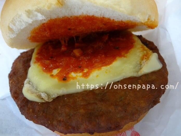 ハーモニーランド 食事 ハッピーカフェ ハンバーガー  DSC02062