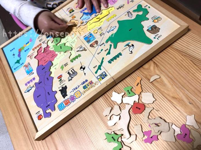 パズル 日本地図 4歳 IMG 4798