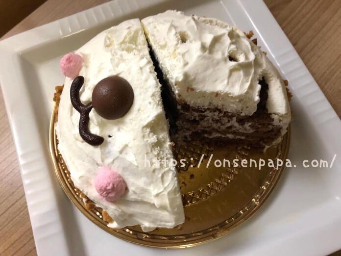 シャトレーゼ パンダちゃん ケーキ レビュー IMG 6521