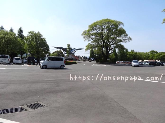 阿蘇ファームランド 駐車場 混雑状況 DSC01222