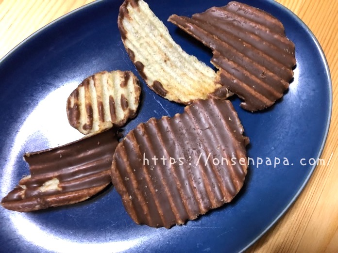 ポテトチップチョコレート ロイズ カロリー IMG 1292