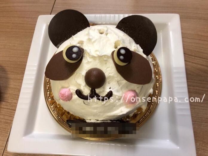 シャトレーゼ パンダちゃん ケーキ レビュー IMG 6501