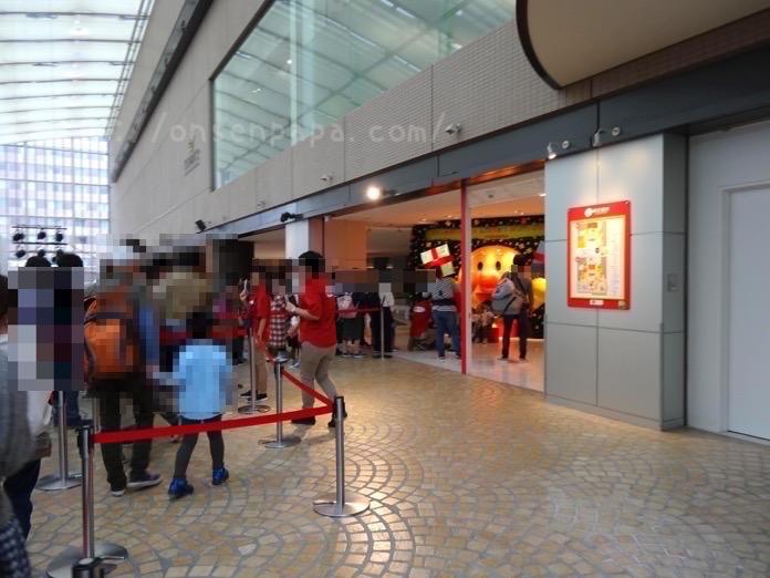 アンパンマン ミュージアム 福岡 混雑状況 DSC03929