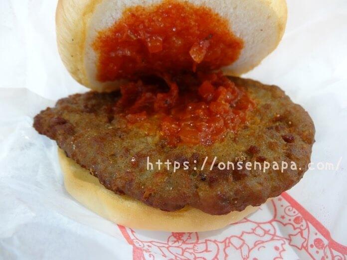 ハーモニーランド 食事 ハッピーカフェ ハンバーガー  DSC02069