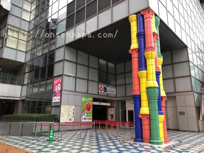 福岡  アンパンマンミュージアム エレベーター    IMG 9118