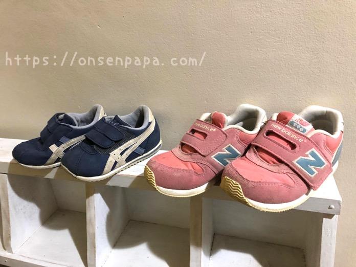 子供靴 アシックス ニューバランス IMG 4561